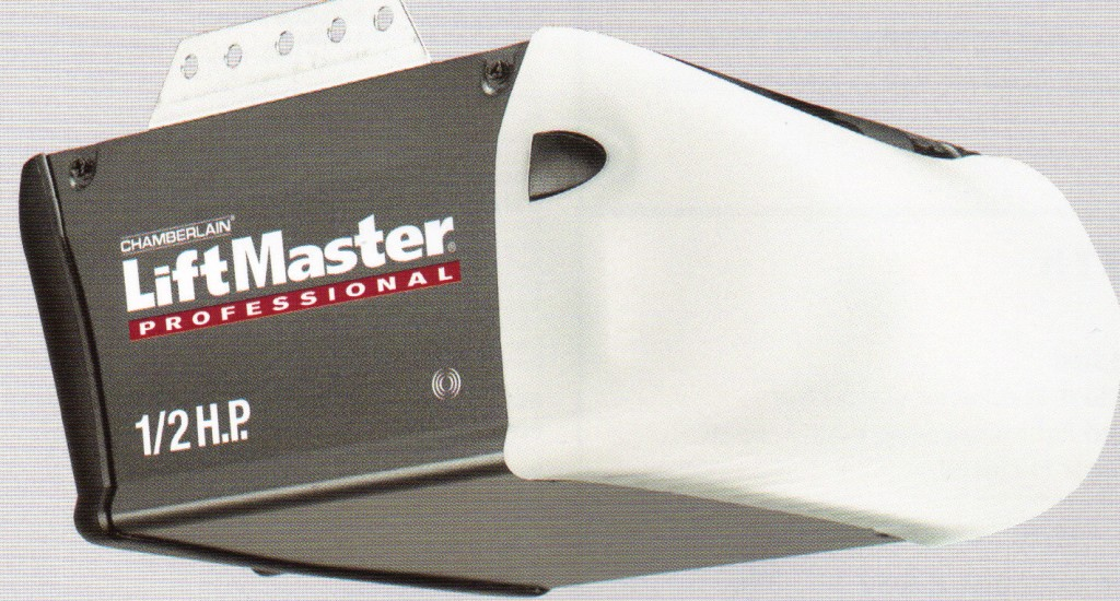 3255 liftmaster half hp chain opener a plus garage doors - Liftmaster garage door opener manual ...