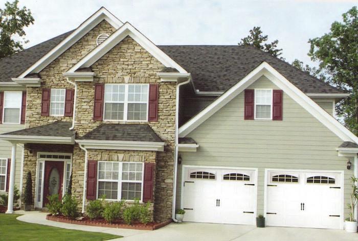 3630 Residential Garage Door House