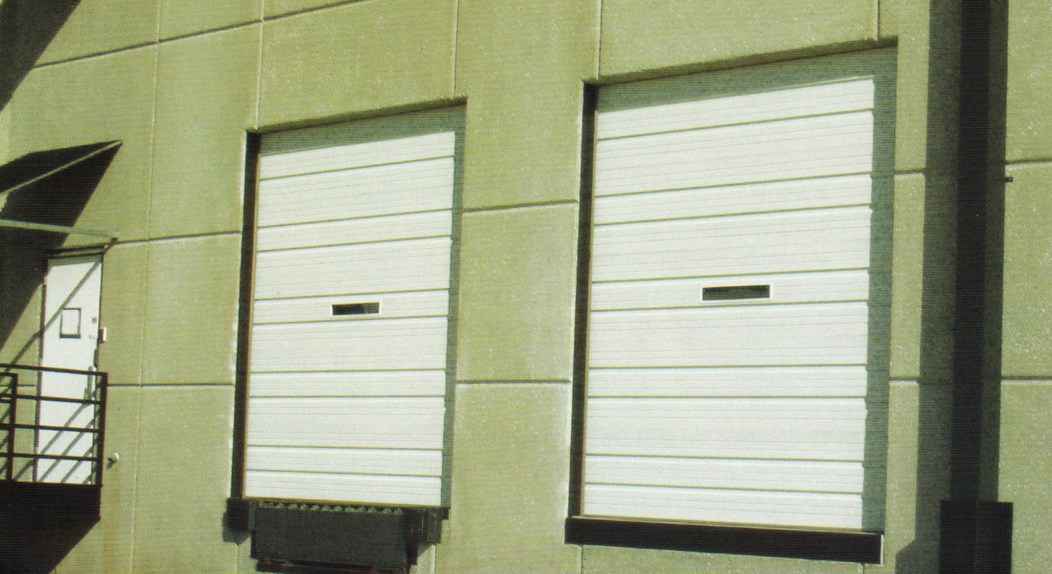 1123 #78804B  Industrial Sectional Steel Bay Garage Door A Plus Garage Doors pic Sectional Steel Garage Doors 35912055