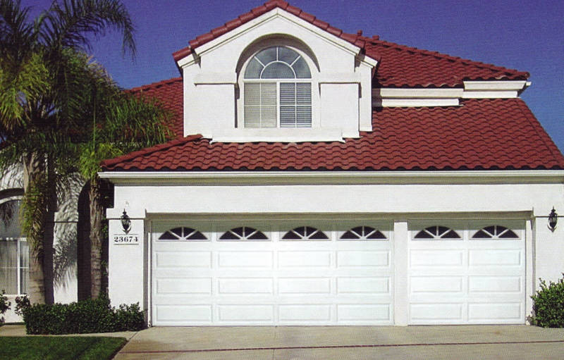 590 Residential Steel Garage Door