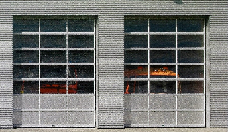 Commercial Garage Doors Panel Glass