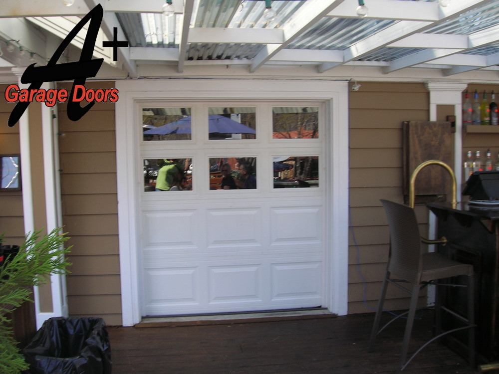 Bar Garage Door Installation Charlotte NC Gallery