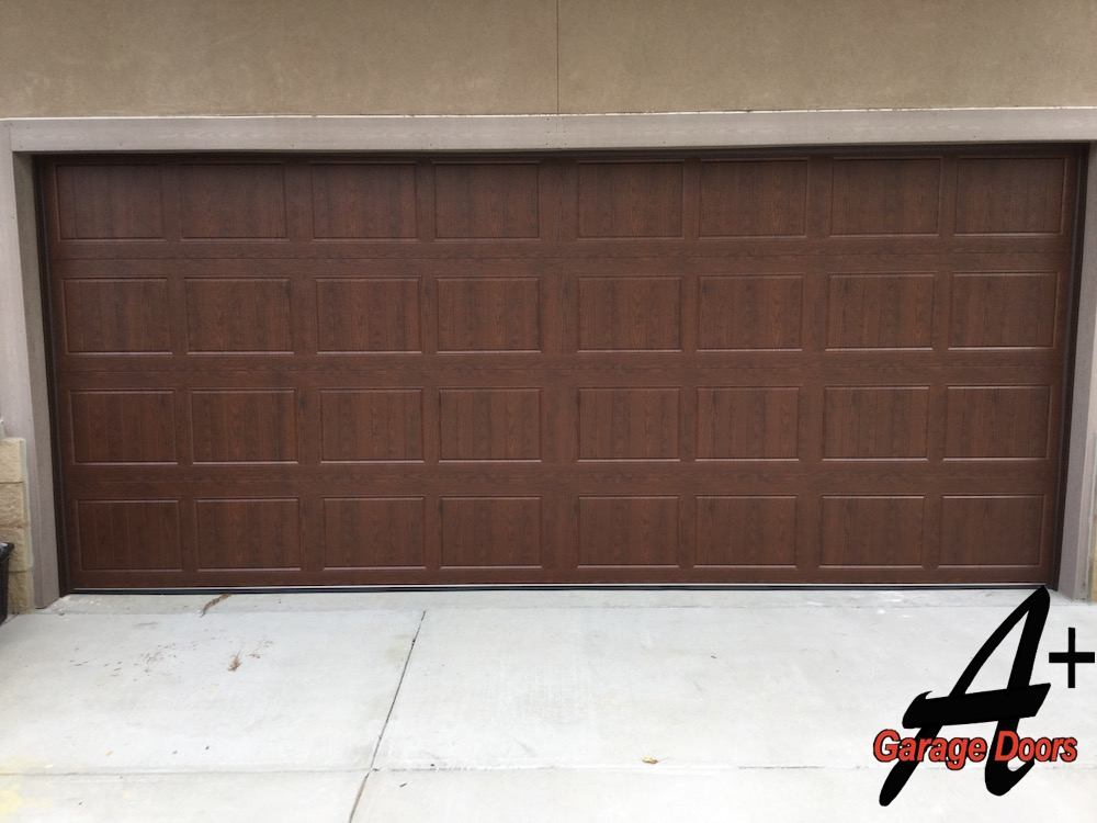 Darkwood Custom Garage Door Display