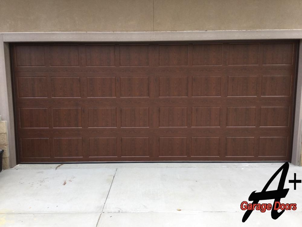 Darkwood Custom Garage Door Display