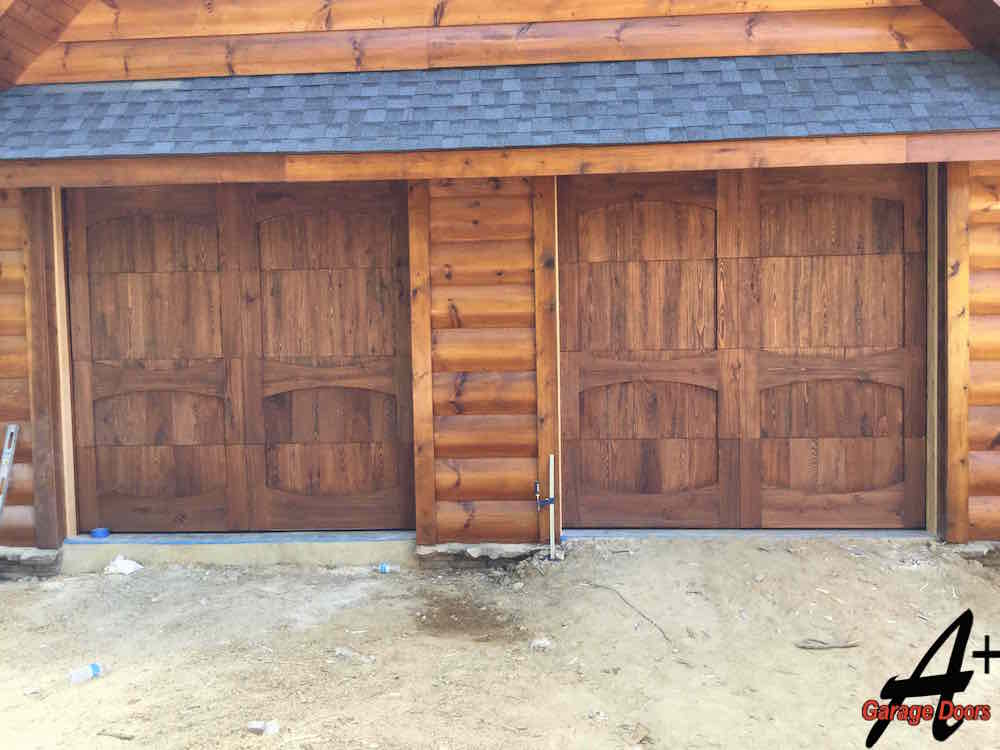 Gallary pictures photos residential commercial repair for Garage doors wood