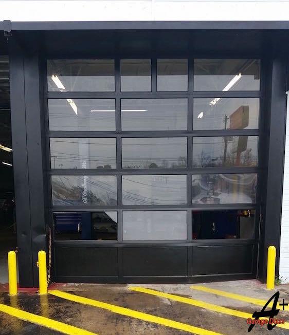 Commercial Garage Door Replacement Repair Charlotte
