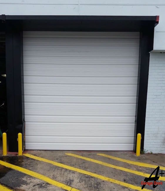 Commercial Garage Door Replacement Repair Installation After