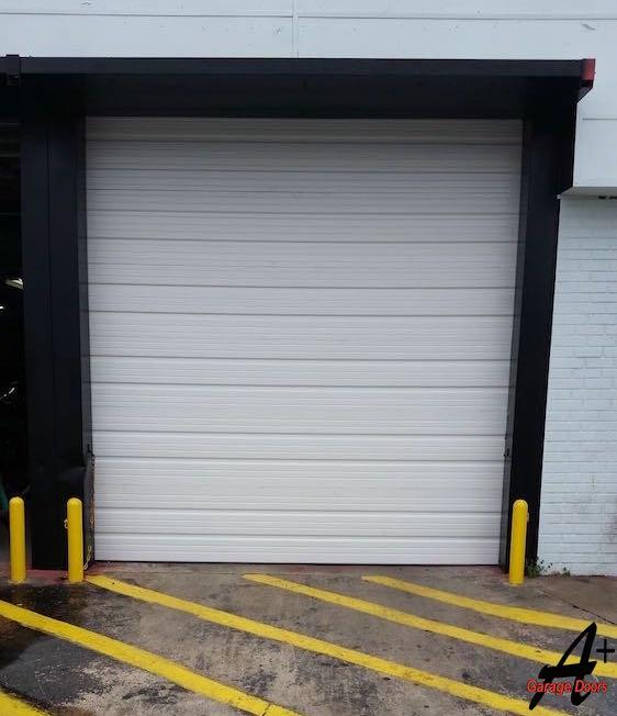 Commercial Garage Door Replacement Repair Installation After