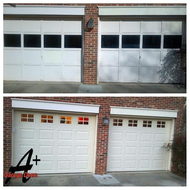 Garage Door Replacement Charlotte Residential