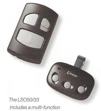 LDO50 Residential Garage Door Opener Remote