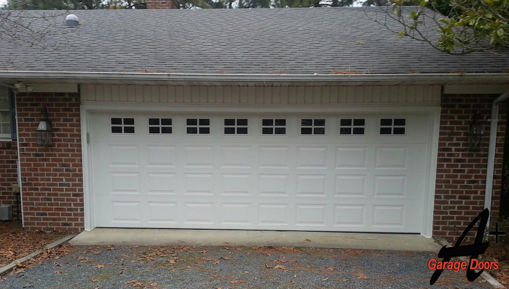 Residential Garage Door Windows Picture