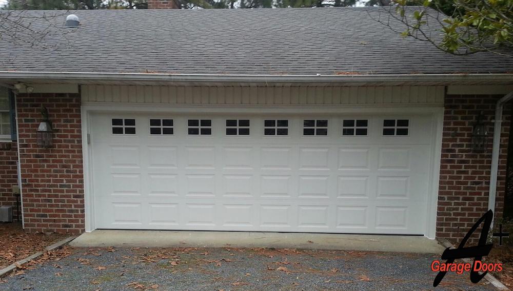 Residential Garage Door Windows Picture