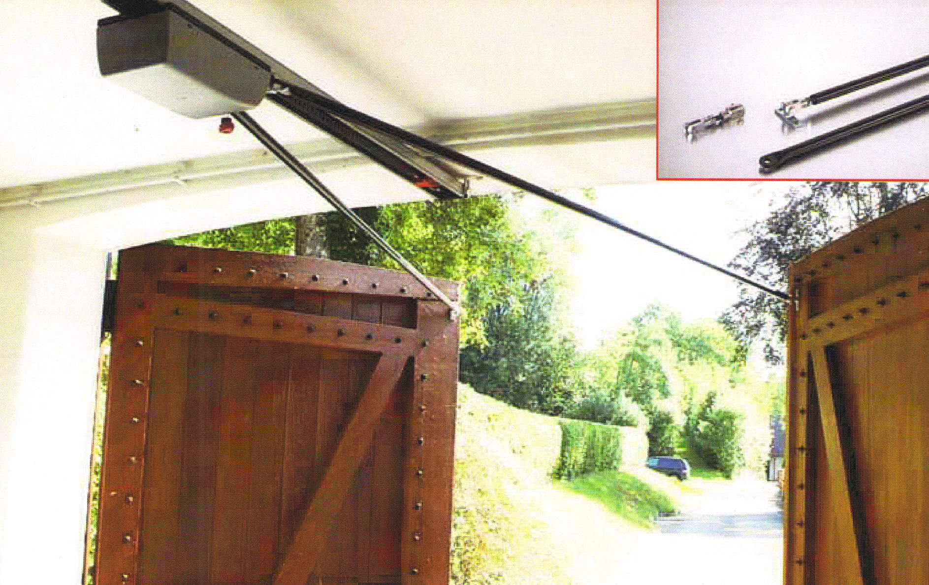 Sommer Swing Garage Door Fitting A Plus Garage Doors