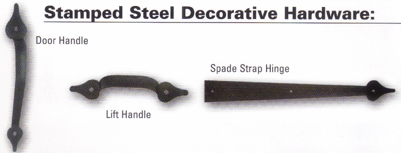 Stamped Steel Decorative Hardware