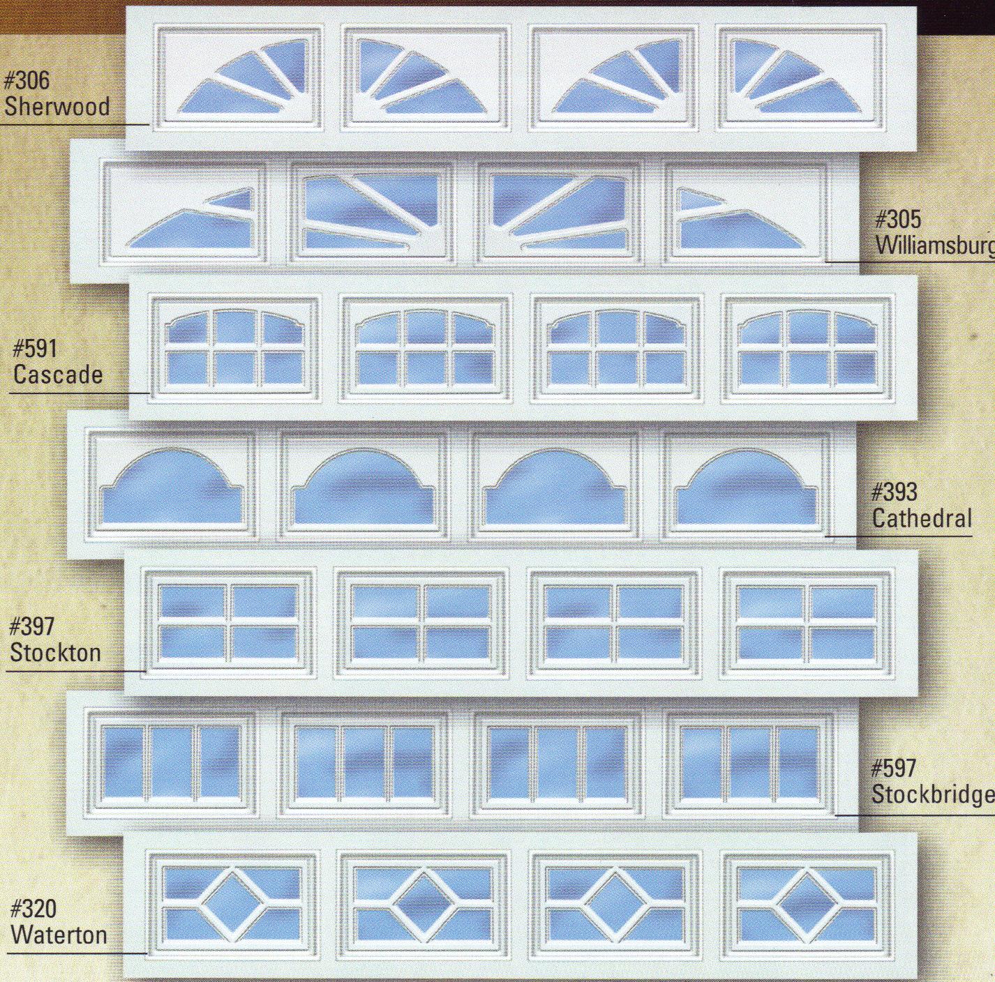 Aluminum door aluminum door r value for Wayne dalton garage door window inserts