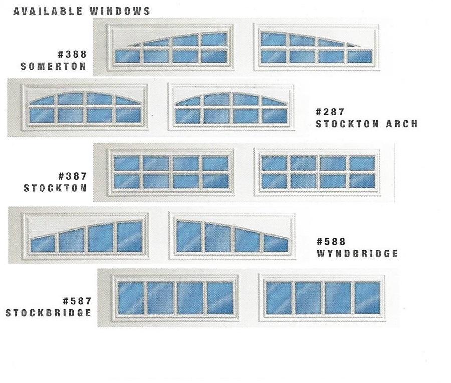 430/431 Residential Garage Door Windows