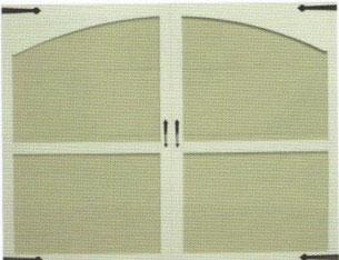 Beechwood with Arch Garage Doors