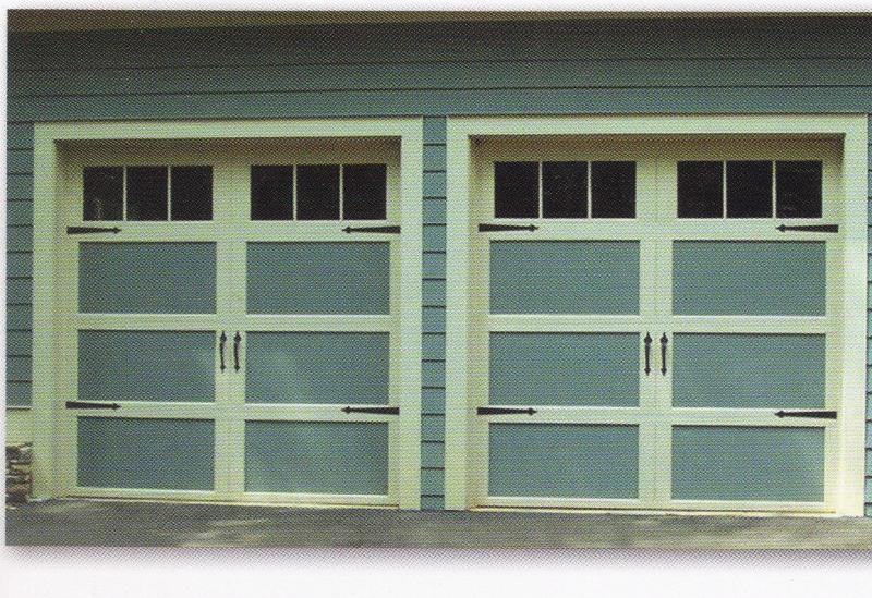 Carriage House Garage Doors 2 Single Garage Doors