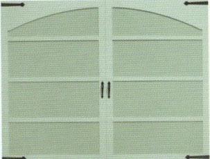 Thornhill with Arch Garage Door