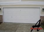 Concord NC Garage Door Two Car Double Door