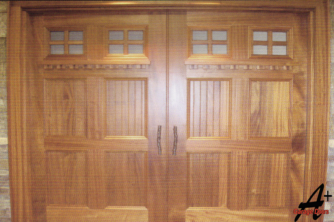 Lake Norman Wood Garage Door
