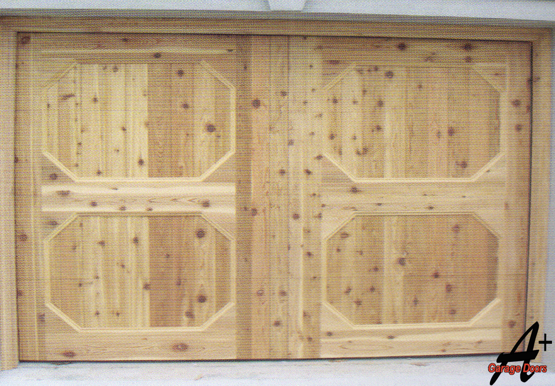 Mint Hill NC Custom Wood Garage Door