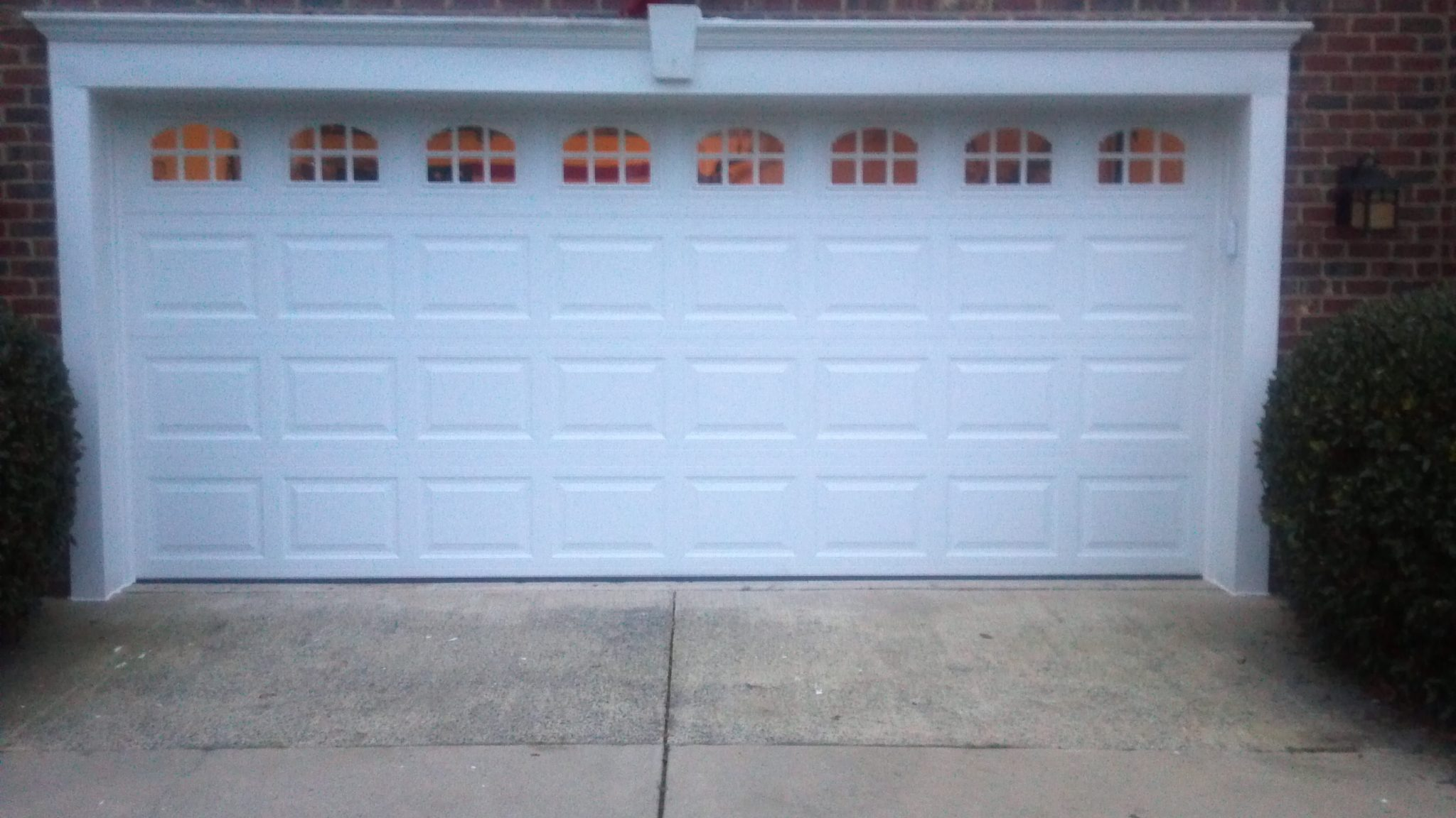 Matthews nc garage doors repairs installations matthews nc 2 car garage doors