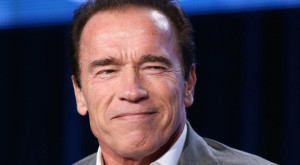 Arnold Schwarzenegger a plus garage doors