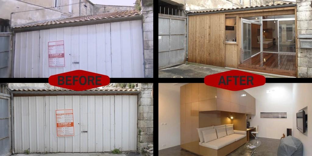Tiny House Movement Garage Bordeaux France Custom Built