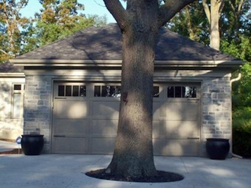 Garage Door Tree Fail