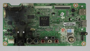 Damaged Garage Door Opener Circuit Board