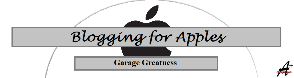 Blogging for Apples