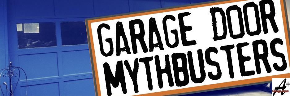 13 Garage Doors Myths, Debunked