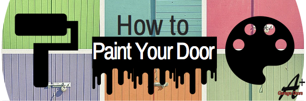 How to Upgrade your Garage Door: Painting it!