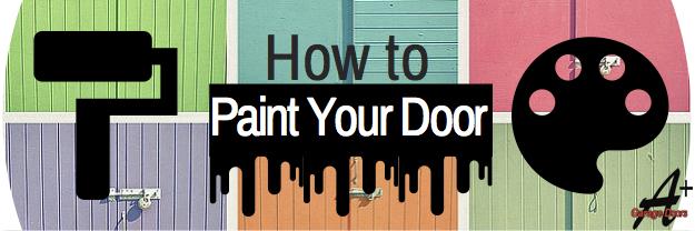 How to Upgrade your Garage Door: Painting it!