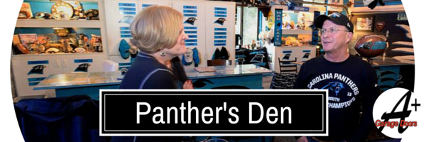 Garage Mahal: A Shrine to The Carolina Panthers