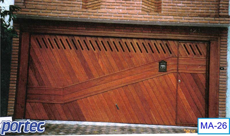 Portec Custom Wood Garage Door