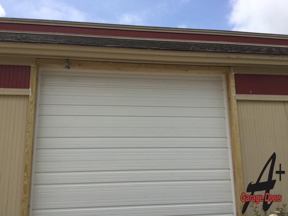 Outside Garage Door Installation After