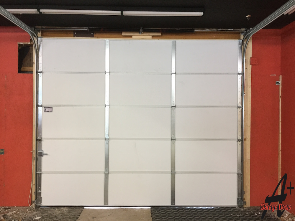 Inside Garage Door Installation After
