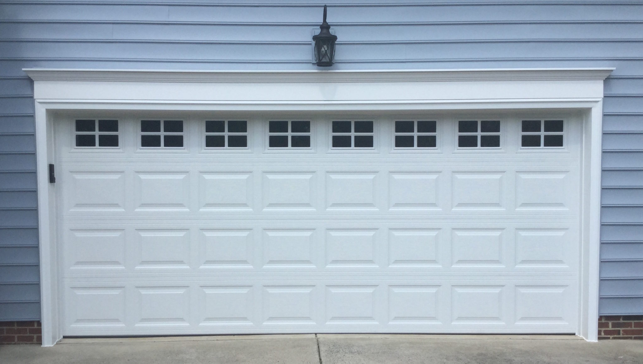 3610 residential garage door installation a plus garage for Residential doors