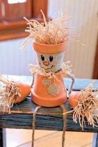 Fall DIY Pumpkin Burlap Craft