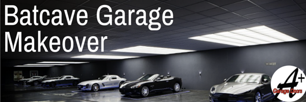 Batcave Garage Makeover!