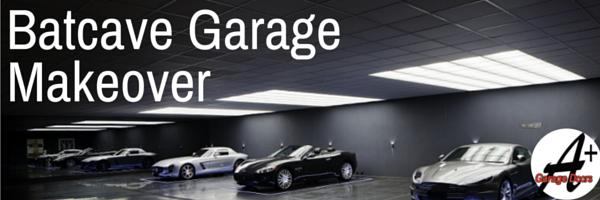Batcave Garage Makeover!