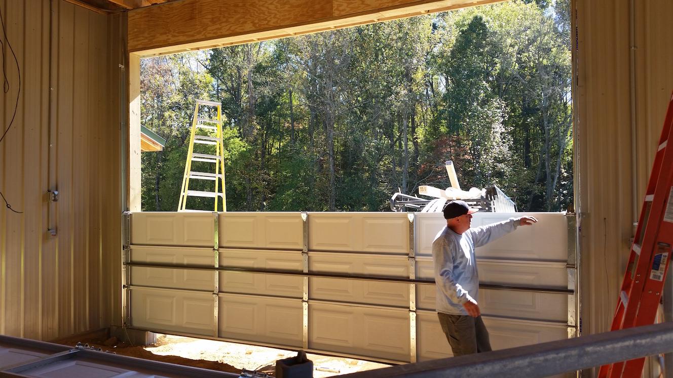Commercial Garage Door Installation Salisbury North