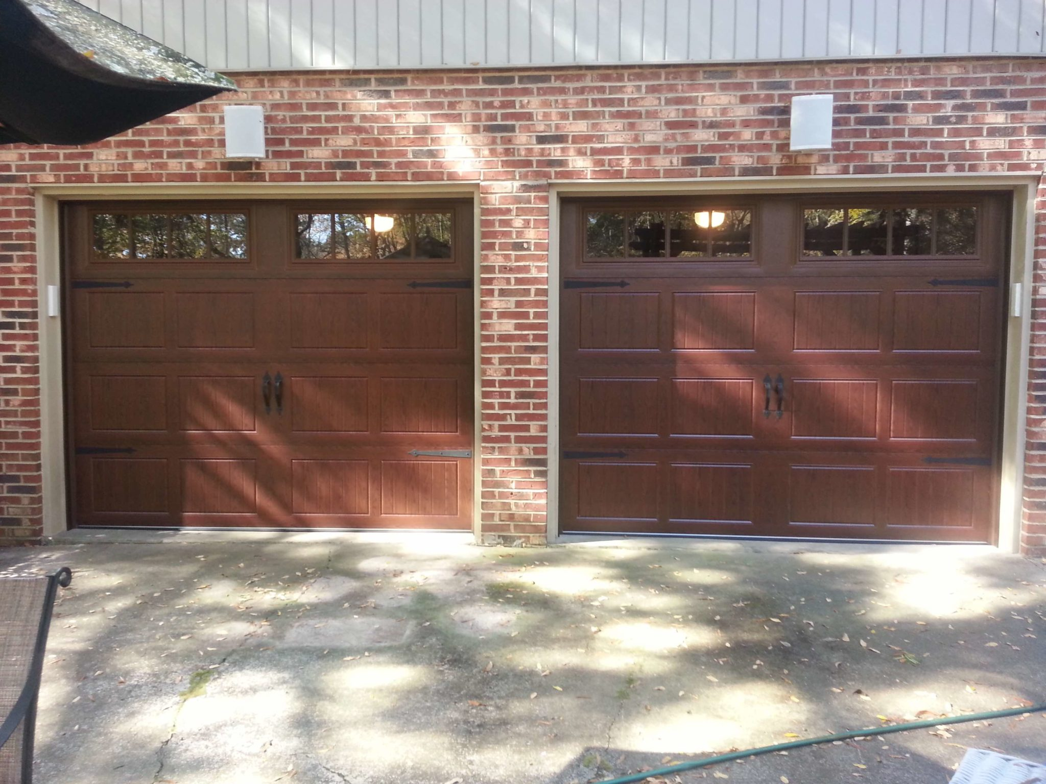 Having Individual Doors For The Different Bays Of Your Garage Is A Classy  Touch!
