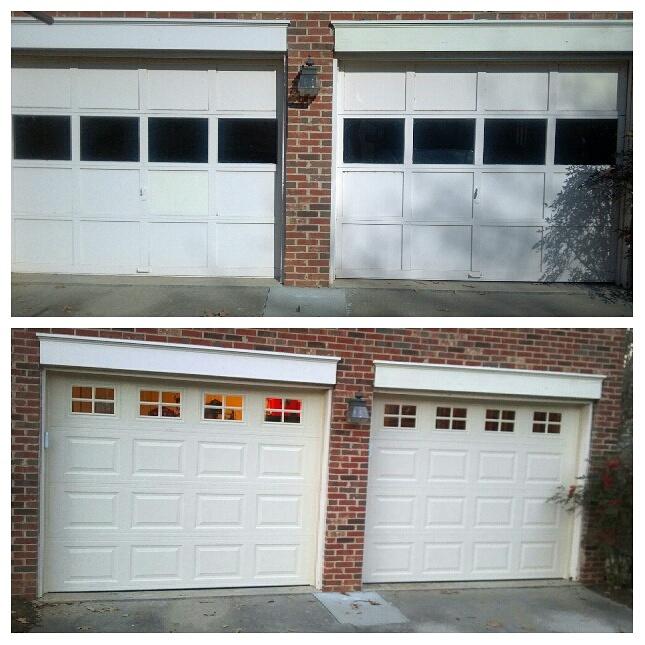 charlotte nc garage door replacement residential
