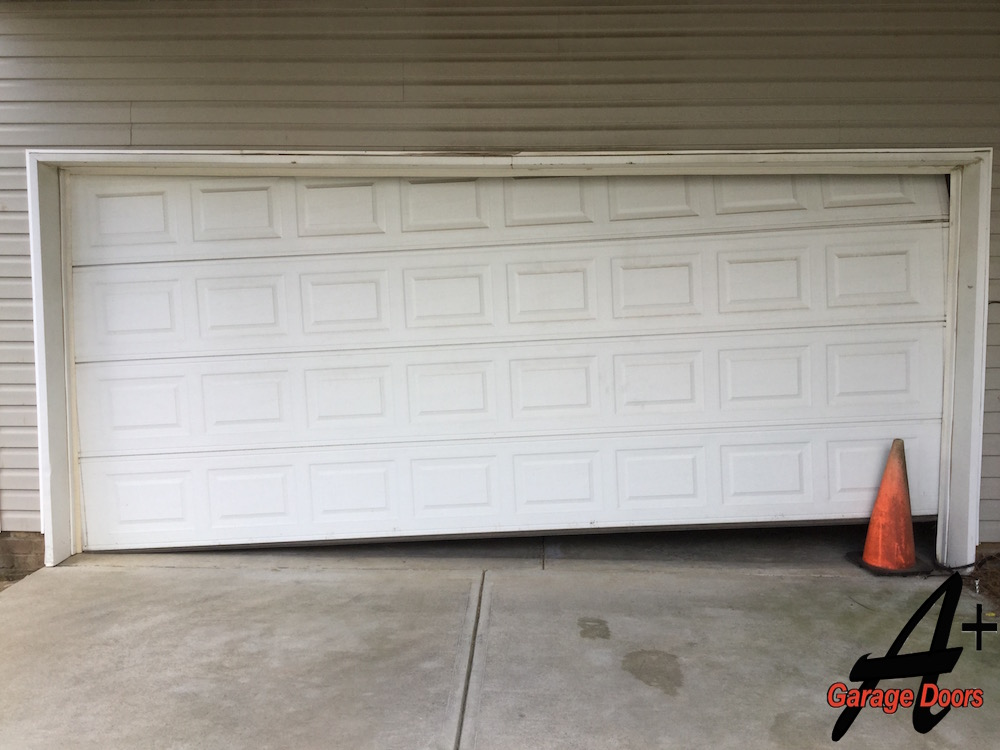 Charlotte Garage Door Repair: Rollers Out Of Track