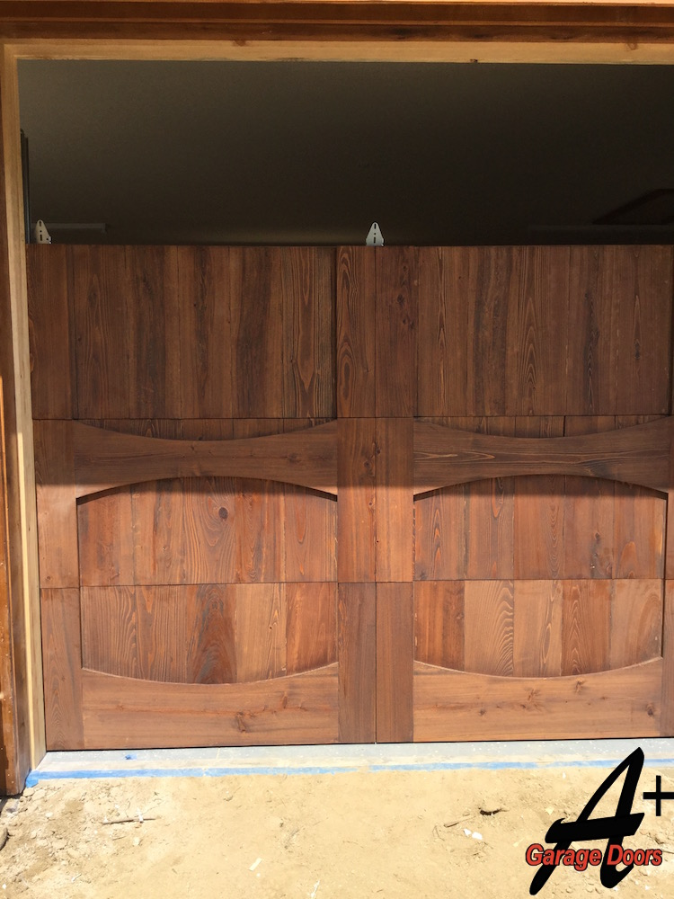 Lake Wylie Custom Wood Garage Door Installation