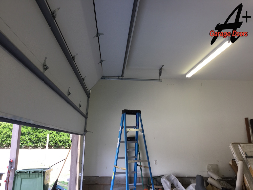 Monroe residential steel garage door installation repair for Residential garage door repair