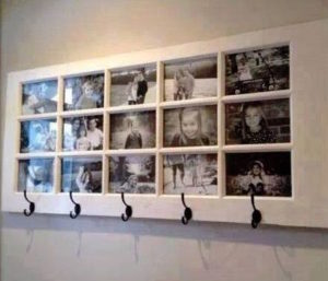 Garage Door Art Wall Picture Display